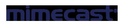mimecast blue logo